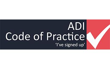 ADI Code of Practice 'I've signed up'